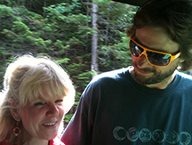 Brenda Wilbee and bestie Nick Mistretta
