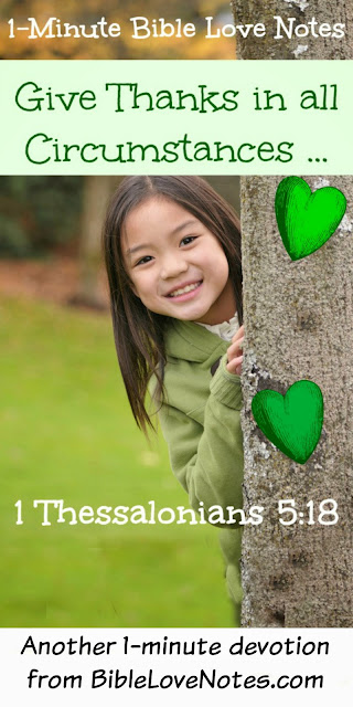 Bible, 1 Thessalonians 5:18, gratitude