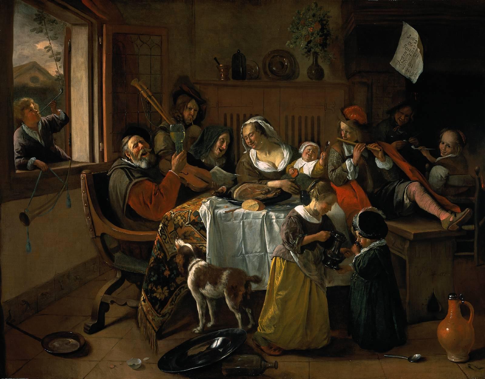 Beeldende vorming Klassiek en modern schilderij