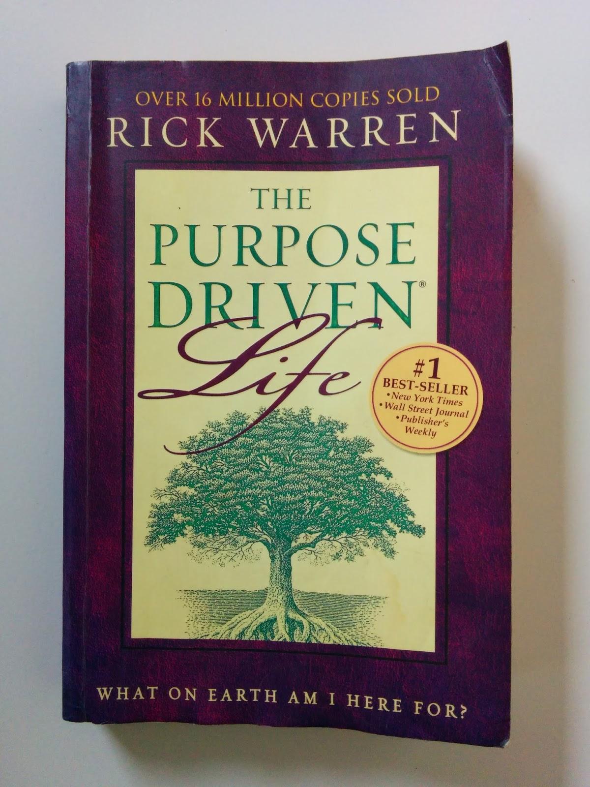 Jual Buku The Purpose Driven Life Bahasa Inggris