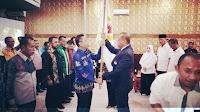 <b>Bersama Pengurus Lainnya, Feri Sofiyan Dilantik Sebagai Ketua KONI Kota Bima</b>