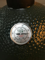 Picture of Temperature Gage on Big Green Egg