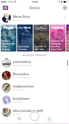 GrinseStern, Snapchat, Anleitung, Tutorial, fragen