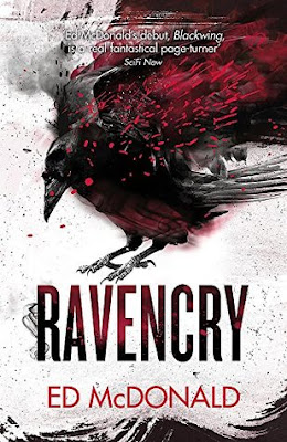 Cover of Ravencry by Ed McDonald