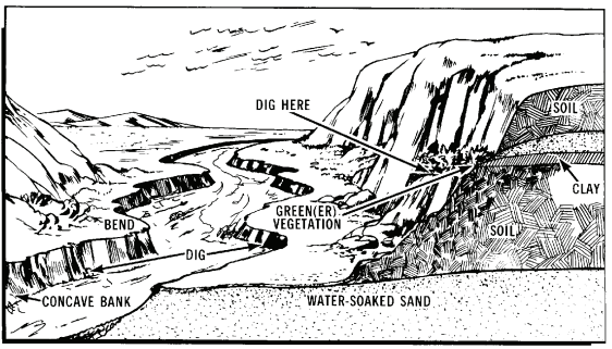 Sword Of Survival: Where To Locate Water In Desert Mountains
