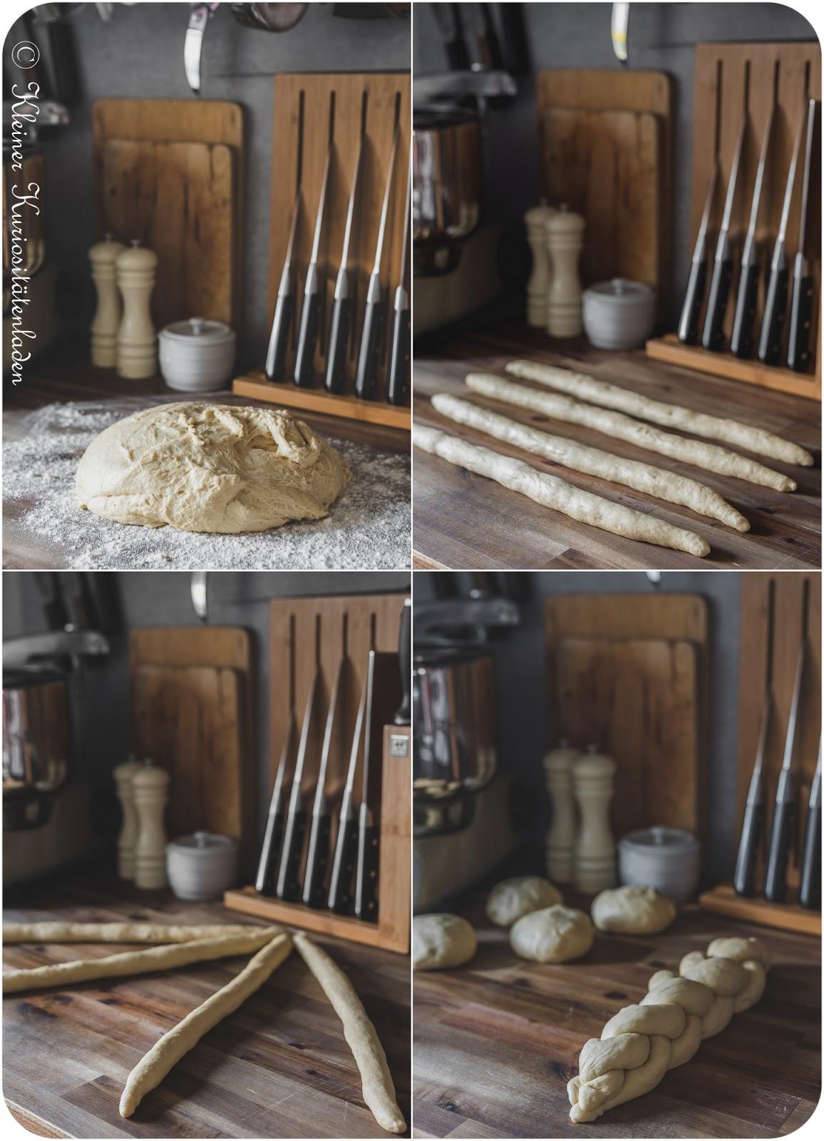 Herstellung eines Challah