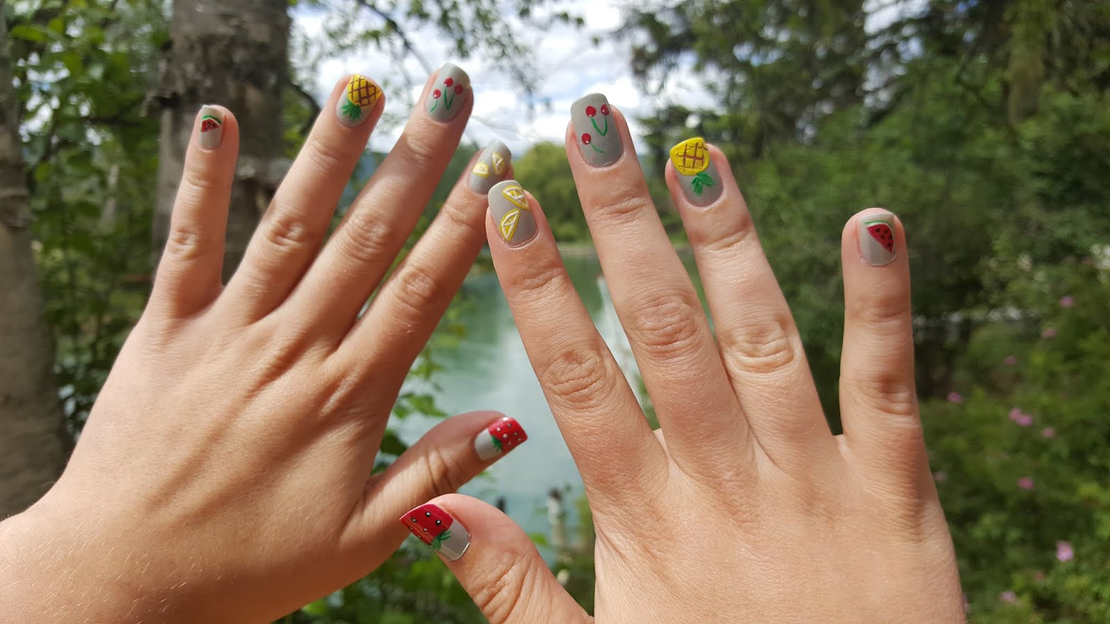 Manicure Monday - Fun and Fruity Summer Nail Art