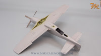 P-51 D-15 Mustang ICM 1/48 - plastic scale model build review