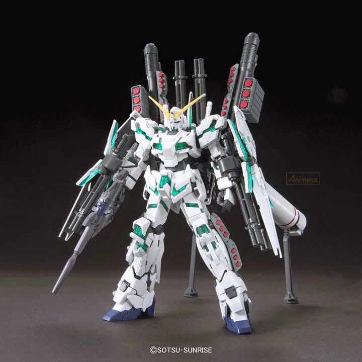 MODEL KIT FULL ARMOR UNICORN GUNDAM RX-0 DESTROY MODE HGUC 1/144 GUNDAM UNICORN BANDAI