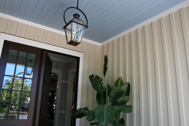 Haint blue porch ceiling | The Lowcountry Lady