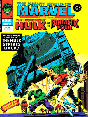 Mighty World of Marvel #326, Hulk vs Doc Samson and Moonstone