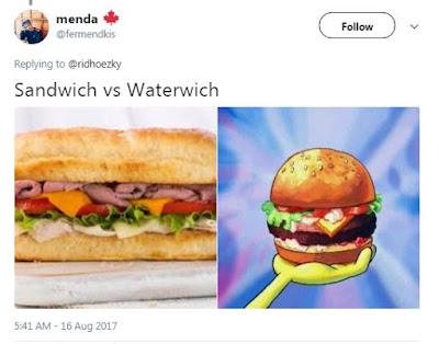 10 Meme 'Plesetan Nama Makanan' Ini Kocaknya Gurih Banget