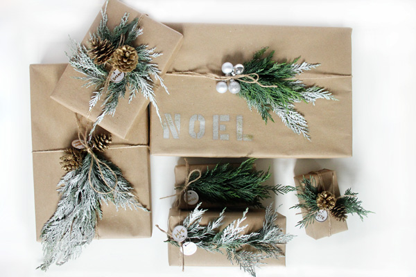 Wrap Ideen Holiday: Diy Cheap Gift Wrapping