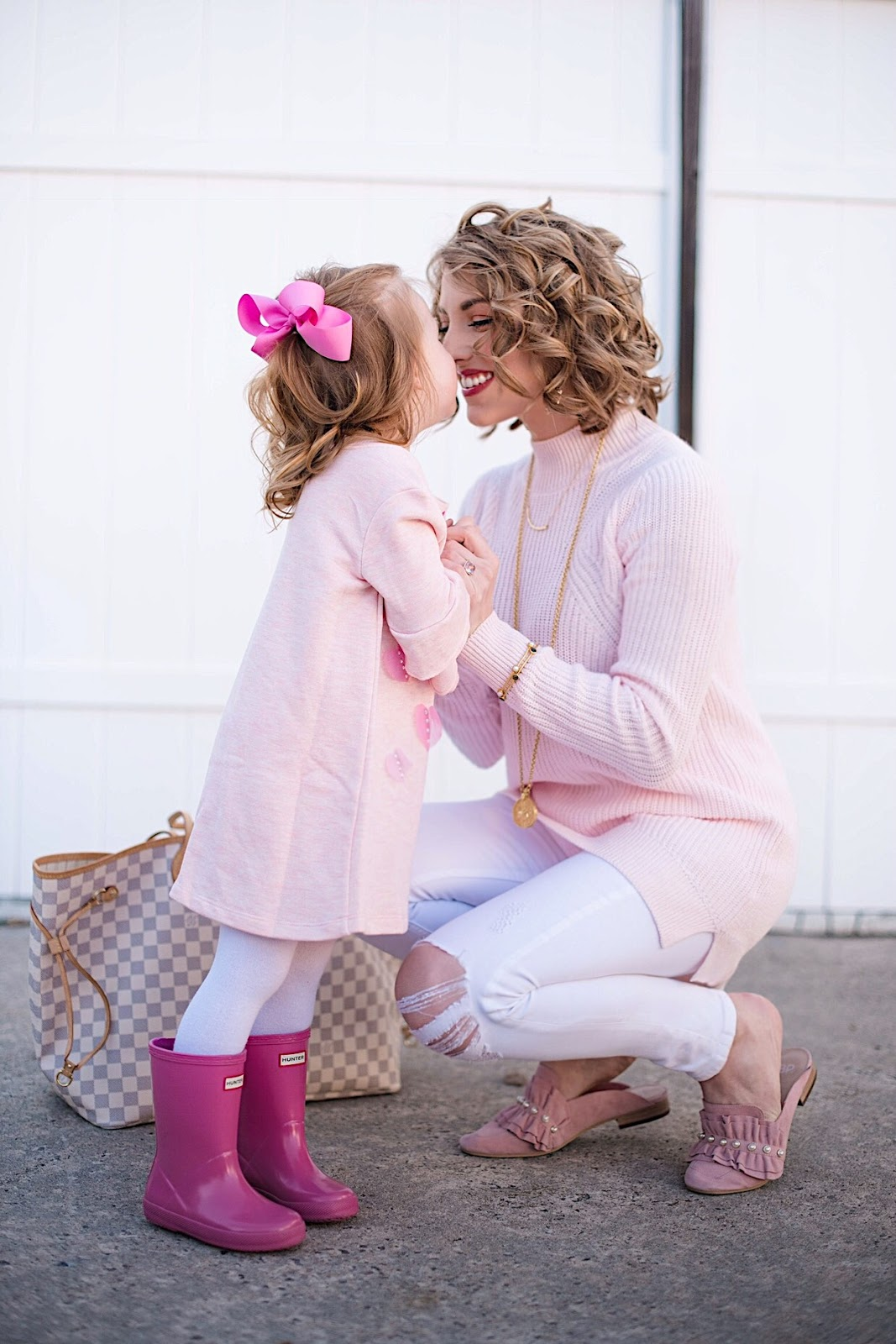 Mommy and Me Valentines Day - See more on Something Delightful Blog
