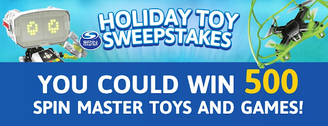 Cartoon Network Holiday Toy Sweepstakes