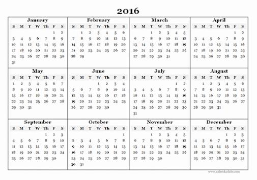 Online date calendar