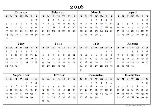 online calendar 2016 online calendar 2016 calendar for year 2016