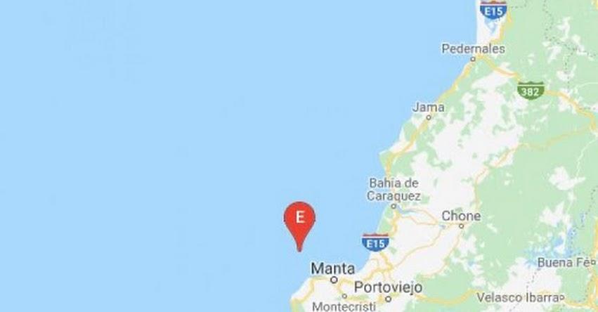 Sismo en Ecuador de Magnitud 4.5 (Hoy Viernes 14 Septiembre 2018) Temblor Epicentro - Manta - Manabí - IGEPN - www.igepn.edu.ec