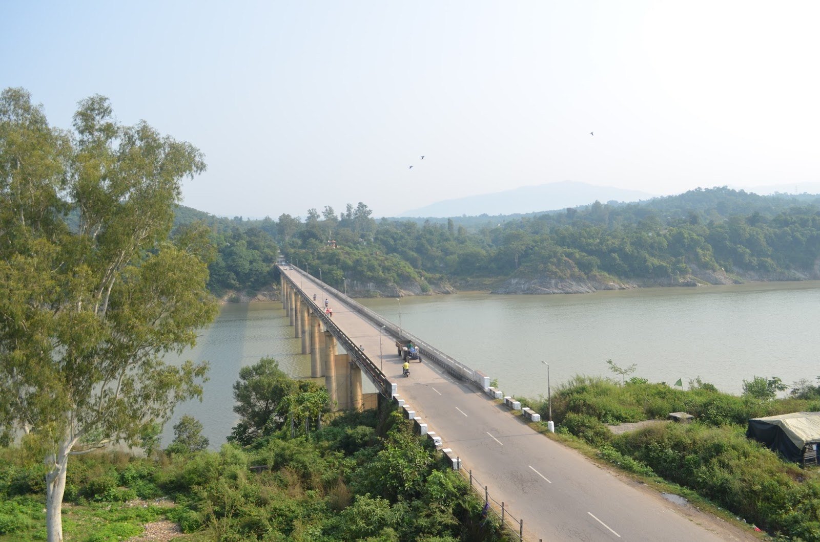 The Beas River, Dehra