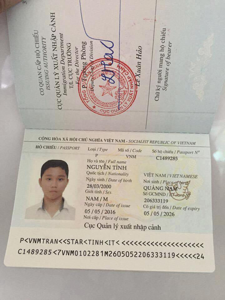 Share psd hộ chiếu chuẩn chưa fix mới nhất 2019