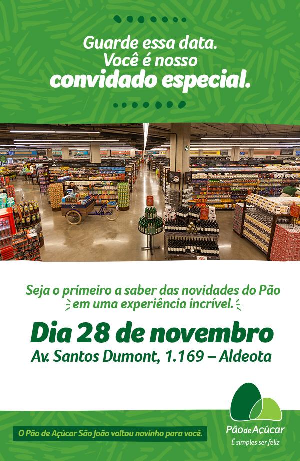 4cd1df908 Supermercado Pão de Açúcar apresenta loja modelo em Fortaleza
