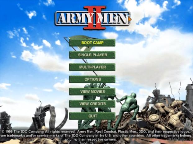 تحميل لعبة الجيش الاخضر 2 الجزء الثانى army men 2 كاملة من كل جديد
