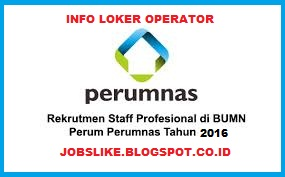 Info Lowongan Kerja BUMN PERUMNAS Terbaru untuk S1 di Jakarta,Bandung,Yogyakarta dan Surabaya,2016
