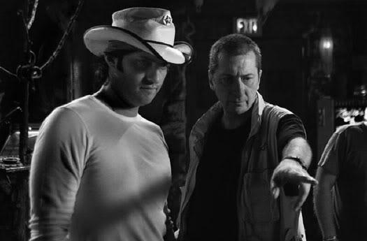Rodriguez: - Chega de tiro? Miller: Quase... dá mais uns dez no saco que já tá de bom tamanho.