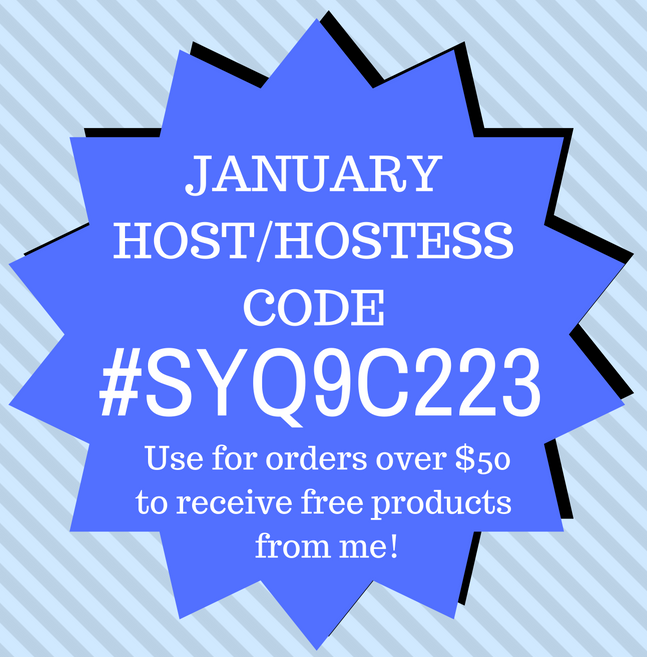 Host/Hostess Code for January