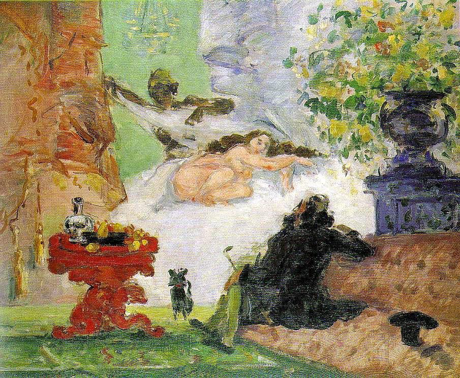 Uma Olympia Moderna - Paul Cézanne e suas principais pinturas ~ O fundador da Arte Moderna