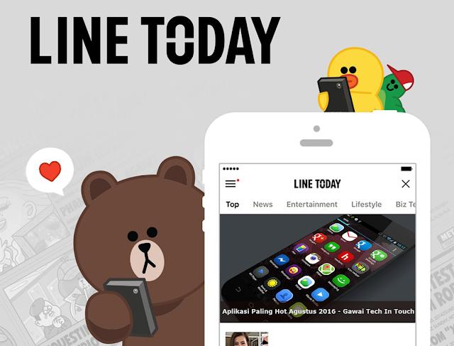 Cara Memunculkan Artikel Situs Kamu di Line Today