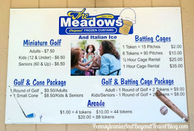 The Meadows Frozen Custard, Mini Golf & Batting Cages in Harrisburg, Pennsylvania