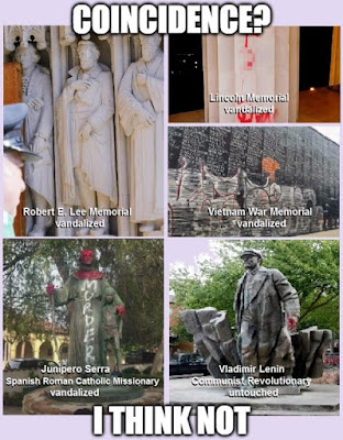 vandalized monuments