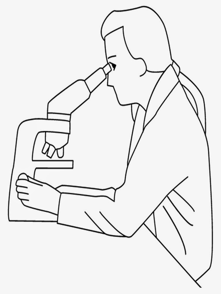 famous scientist coloring pages - photo#5