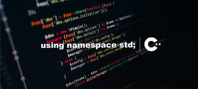 Fungsi ( using namespace std ) C++ - Belajar C++