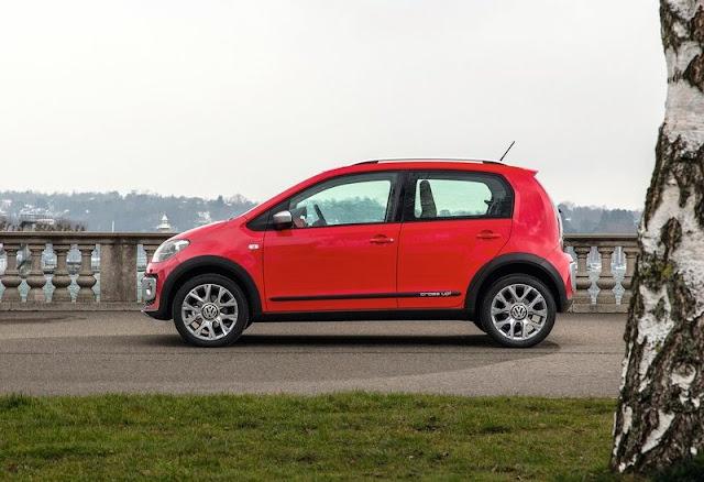 2013 Volkswagen Cross Up Body