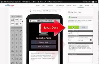 Membuat Aplikasi Android Tanpa Coding - Shalomapps