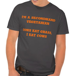 I'm a Secondhand Vegetarian | Funny T-shirt