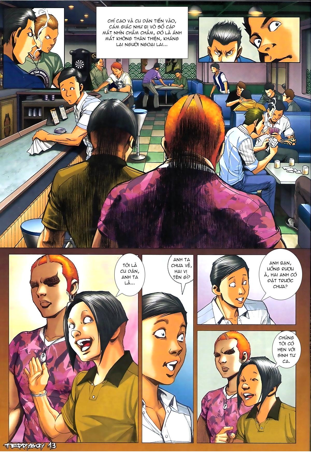 Người Trong Giang Hồ - Chapter 1347: Lý Chí Cao vs Sinh Tư - Pic 12