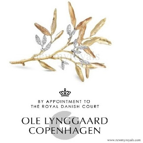 Crown Princess Mary Jewels Ole Lynggaard Brooch