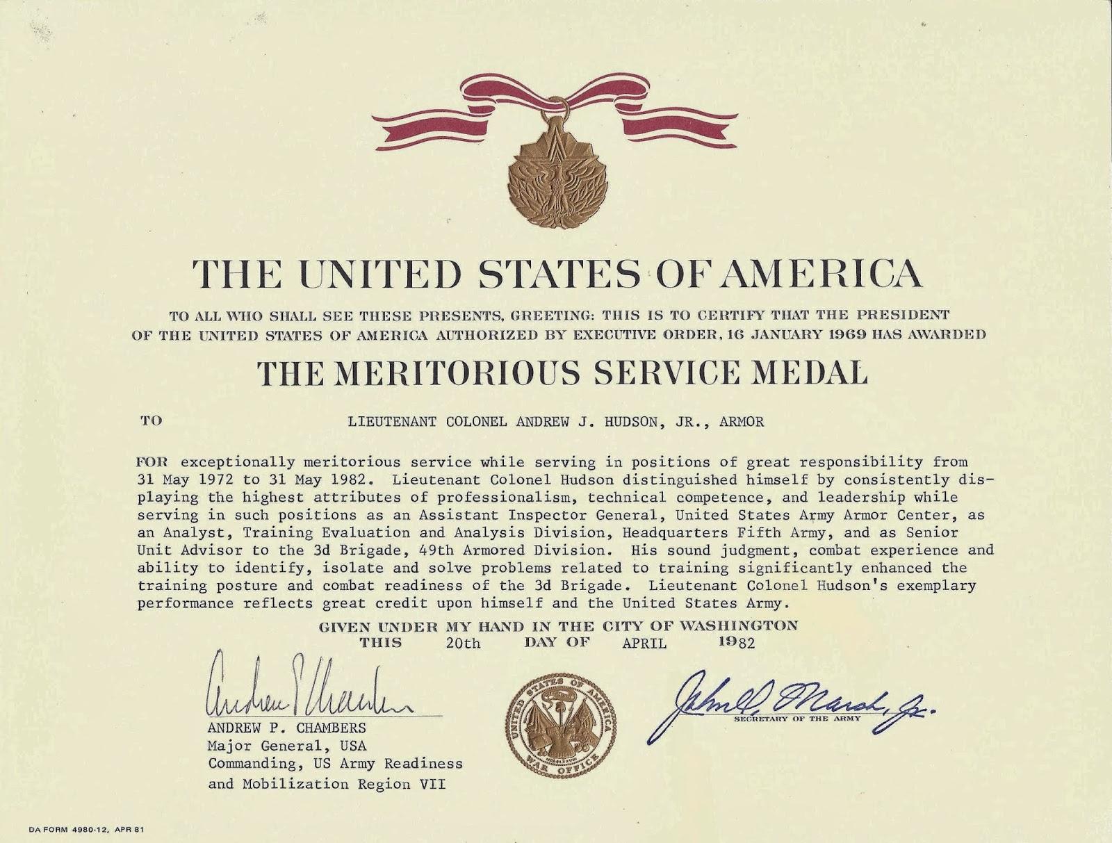 President gilmour's public service prompts prestigious army award.