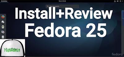Fedora 25 Linux