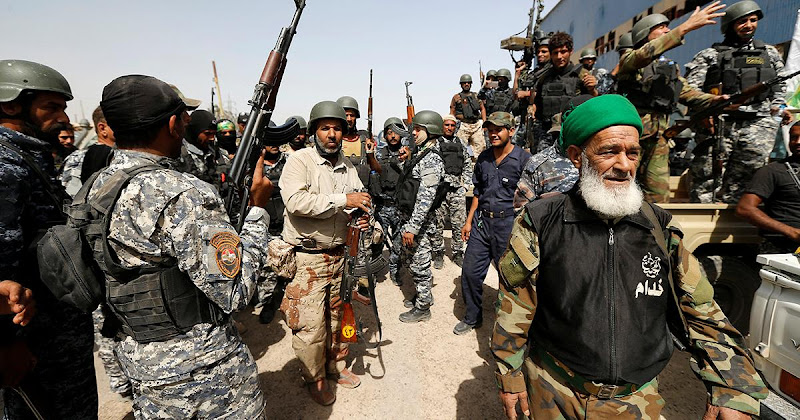 """L'Armée Irakienne entre à Falloujah et déloge """"Daech""""."""