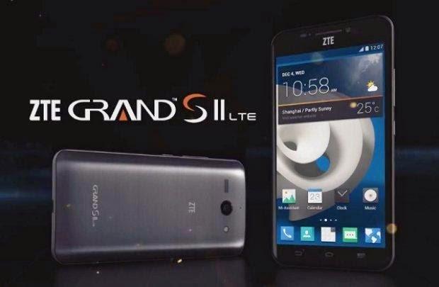 Harga dan Spesifikasi ZTE Grand S II Terbaru