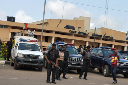 thugs beats Councillors edo state