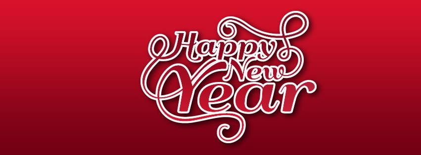 Happy New Year Facebook banner