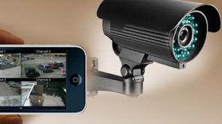 CCTV Hanya memakai Smartphone Android