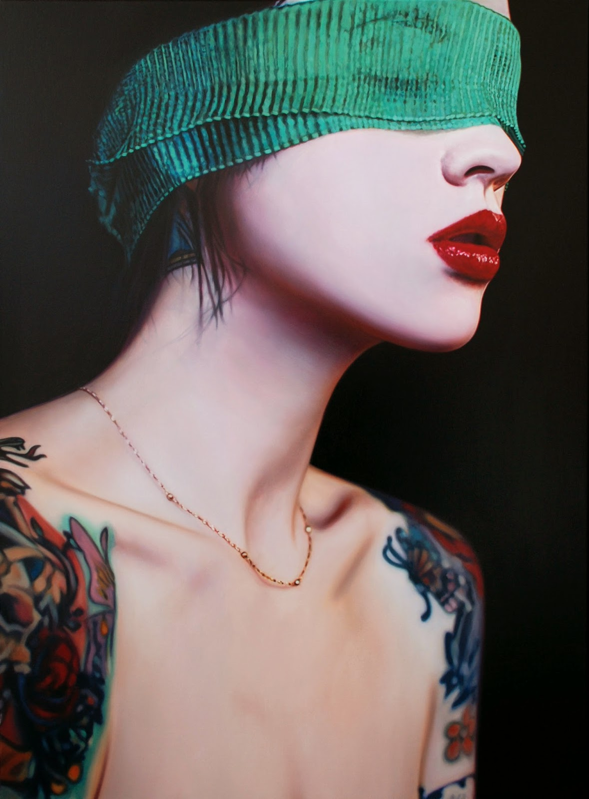 Photo-Realistic Paintings by Philip Muñoz