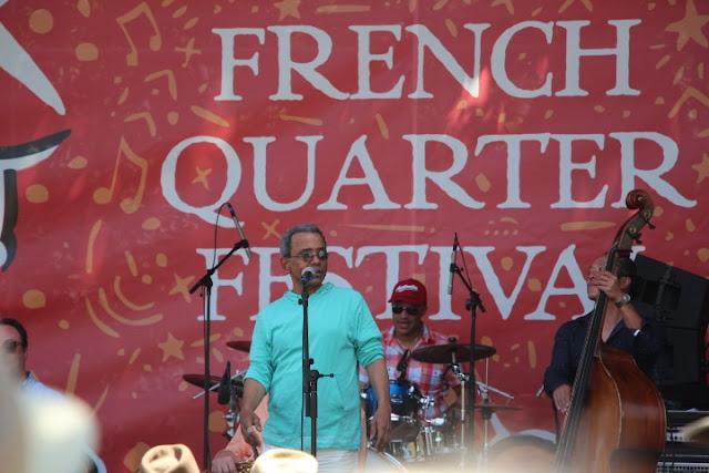 John Boutte Smoke Free NOLA Stage French Quarter Festival 2016