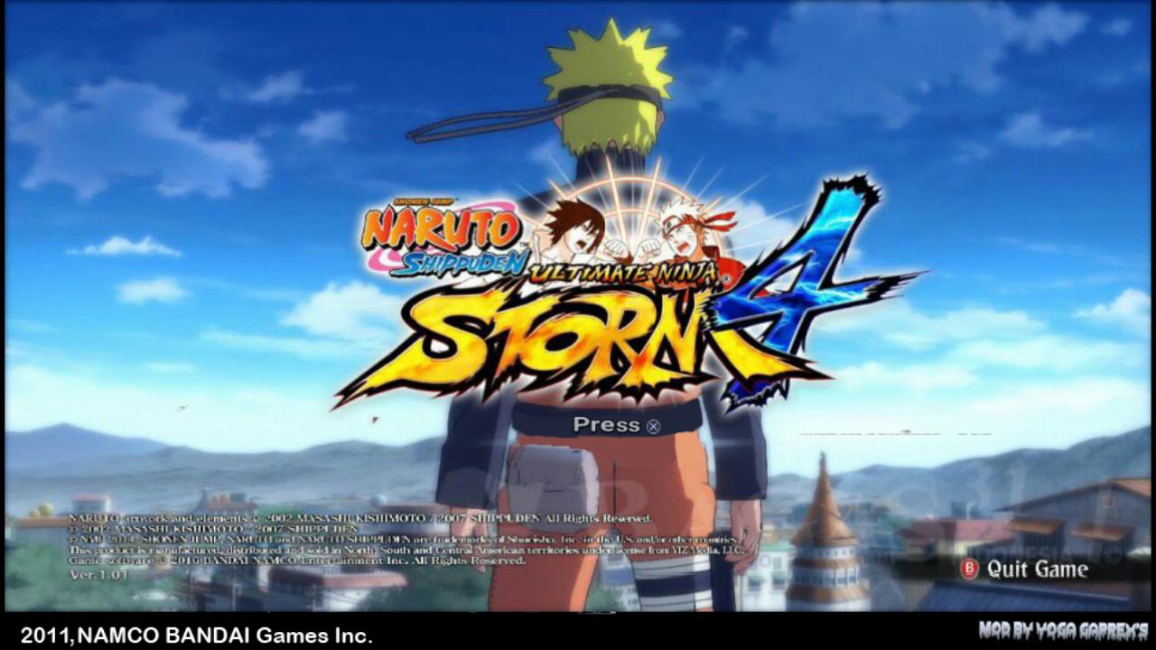 telecharger naruto shippuden ultimate ninja storm 4 psp cso